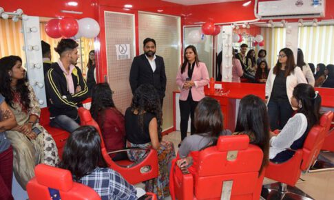 Grand Opening of Creative Beauty Academy and Salon in Ahmedabad
